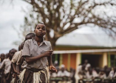 PATRIZIA School Syangeni,Kenia - Kinder laufen
