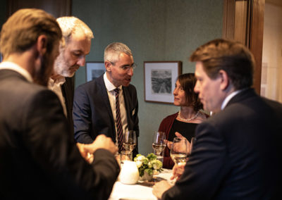 Event PATRIZIA Charity Cooking in Luxembourg mit Deloitte und Clifford Chance 2019 - Begrüßung