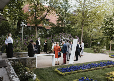 Event PATRIZIA Klavierrezital 2019 Wannsee - Begrüßung