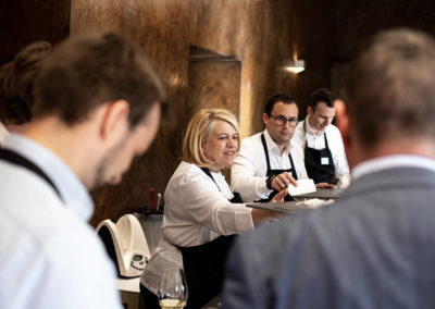 Event PATRIZIA Charity Cooking in Luxembourg mit Deloitte und Clifford Chance 2019 - Lea Linster kocht