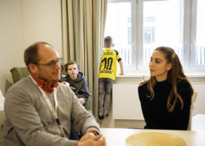 PATRIZIA Aftercare Hamburg - Besuch 2019 - Ann-Kathrin Götze im Gespräch