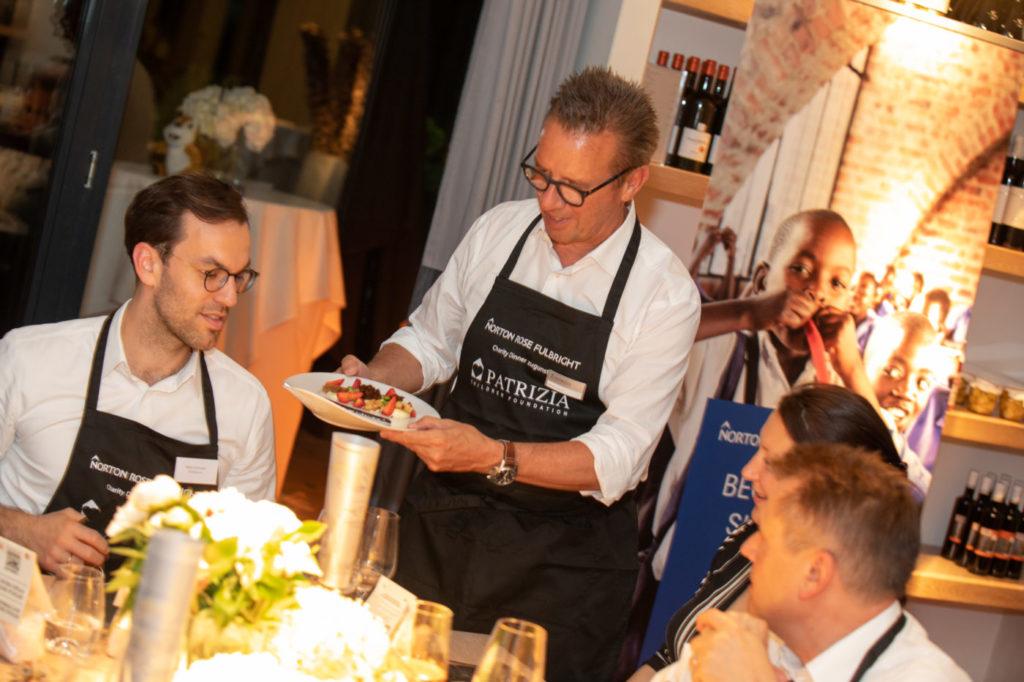 Event PATRIZIA Charity Cooking in Hamburg mit Norton Rose Fulbright 2018