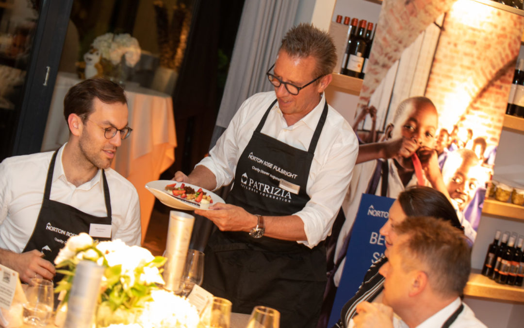 Norton Rose Fulbright´s charity cooking event