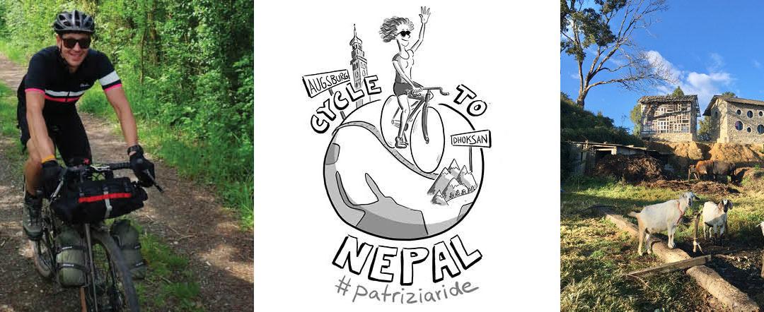 Cycle to Nepal: #patriziaride für den Digital Classroom