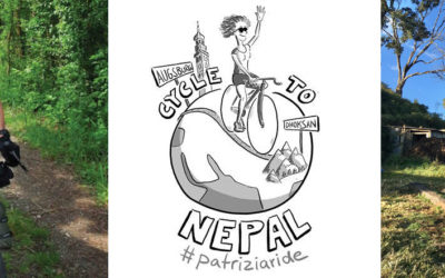 Cycle to Nepal: #patriziaride for Digital Classroom Project in Dhoksan