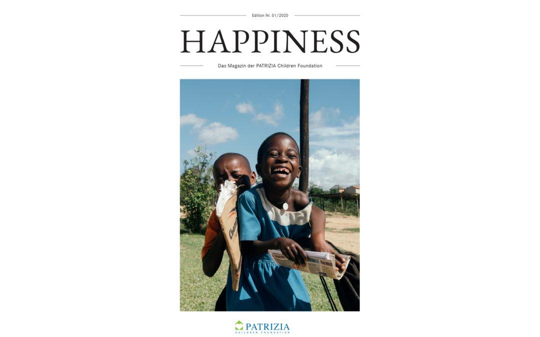 Neu erschienen: HAPPINESS – unser drittes Stiftungsmagazin