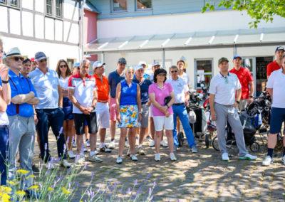 Event 7. PATRIZIA Charity Golf Cup 2019, Frankfurt Hof Hausen vor der Sonne - Begrüßungsansprache und Teilnehmer