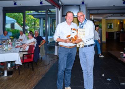 Event 7. PATRIZIA Charity Golf Cup 2019, Frankfurt Hof Hausen vor der Sonne - Abendveranstaltung, Christoph Langmack, straightest Drive