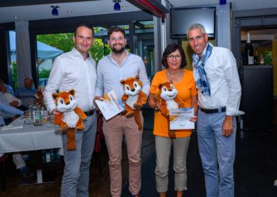 Event 7. PATRIZIA Charity Golf Cup 2019, Frankfurt Hof Hausen vor der Sonne - Abendveranstaltung, Flight Netto 2 Sieger