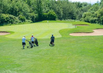 Event 7. PATRIZIA Charity Golf Cup 2019, Frankfurt Hof Hausen vor der Sonne - Golfer auf der Runde