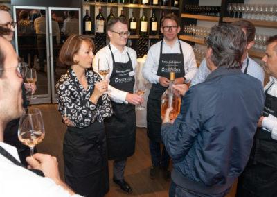 Event PATRIZIA Charity Cooking 2019 in Frankfurt mit Norton Rose Fulbright - Schnapsverkostung