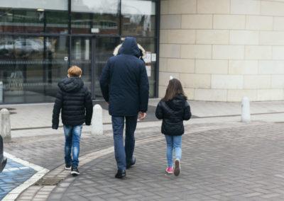 PATRIZIA Aftercare Hamburg Deutschland - Kinder und Alexander Busl Rückseite