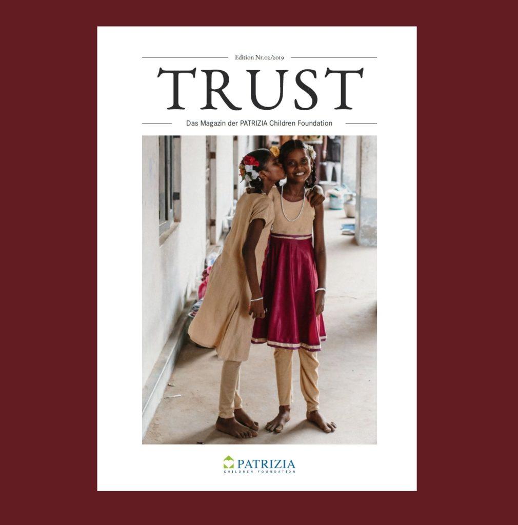 Stiftungsmagazin TRUST Headerbild rot