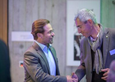 Event PATRIZIA PreOpening HVV in Augsburg - Handshake