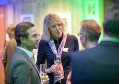 Event PATRIZIA PreOpening HVV in Augsburg - Gäste im Gespräch
