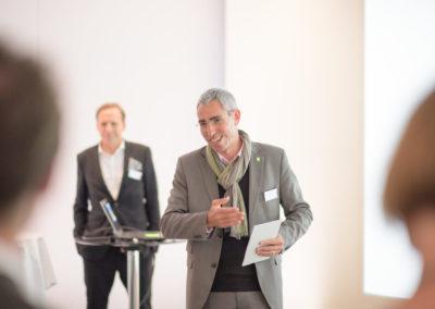 Event PATRIZIA PreOpening HVV in Augsburg - Alexander Busl präsentiert