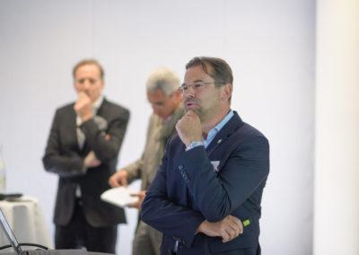 Event PATRIZIA PreOpening HVV in Augsburg - Wolfgang Fratz präsentiert