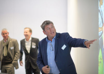 Event PATRIZIA PreOpening HVV in Augsburg - Andreas Menke präsentiert Ruanda